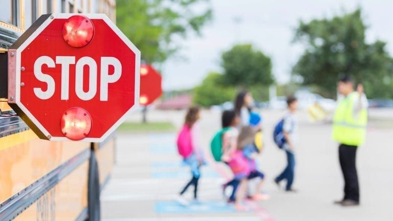 sharing-the-road-with-school-buses