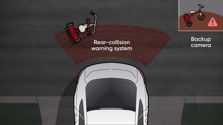 crash avoidance technology rear