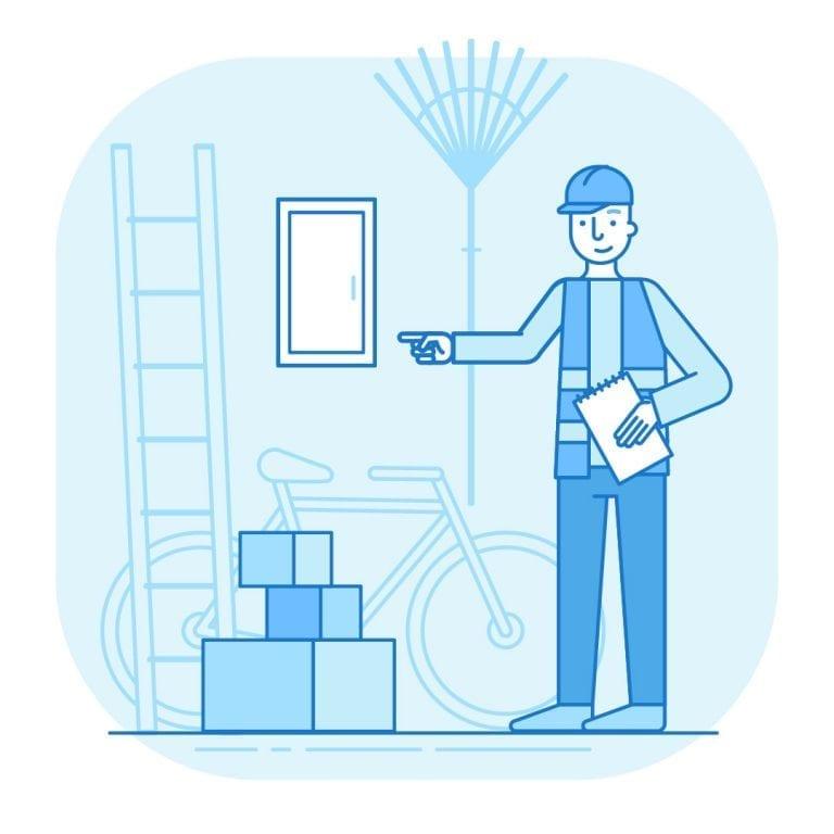 new home checklist fuse box water shutoff
