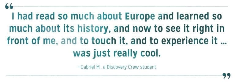 family-river-cruises-discovery-crew-student-review-gabriel
