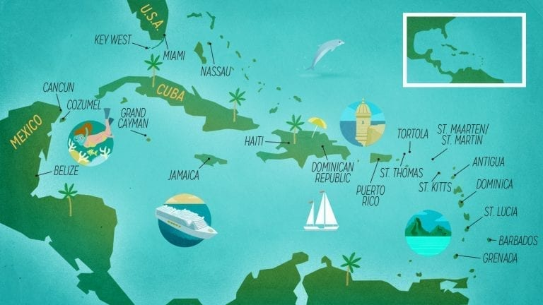 caribbean-cruise-destinations-map