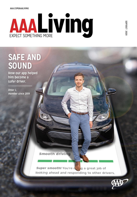 AAA Living September October cover