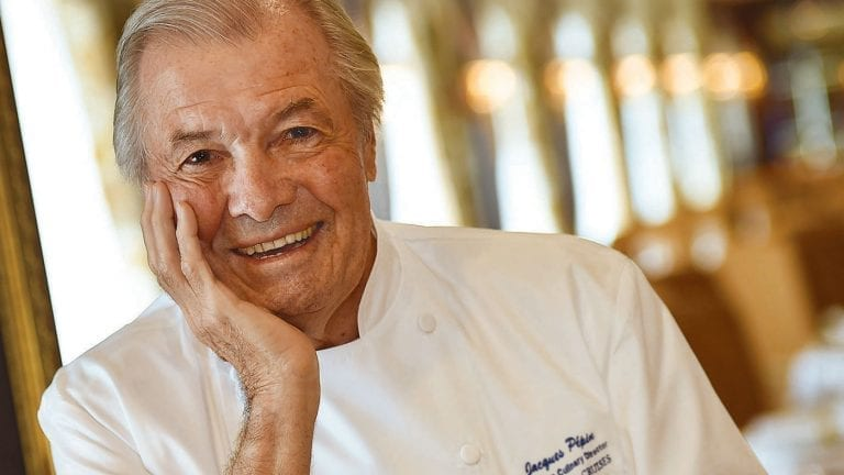 Executive Culinary Director Master Chef Jacques Pépin